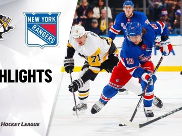 NHL Highlights | Penguins @ Rangers 11/12/19