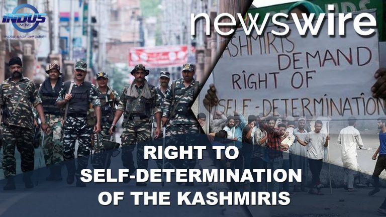 Right to self-determination of the Kashmiris | News Wire | Indus News