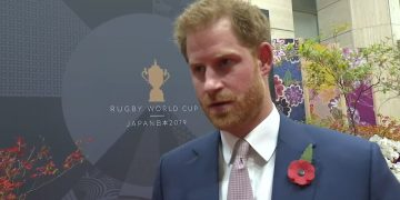 Prince Harry previews Rugby World Cup 2019 final