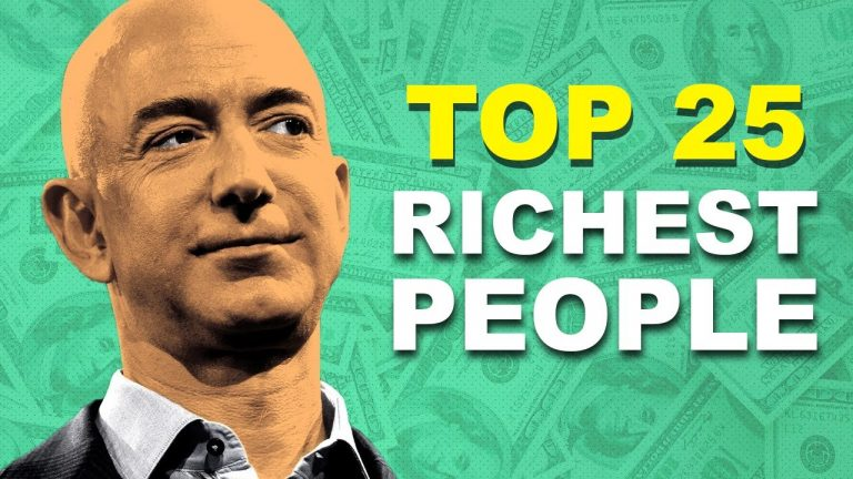 Top 25 RICHEST People In The World (2019)