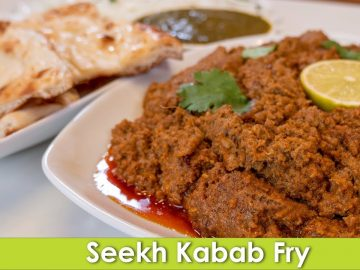 Seekh Kabab Fry Instant Pot Recipe Waheed Style in Urdu Hindi  - RKK