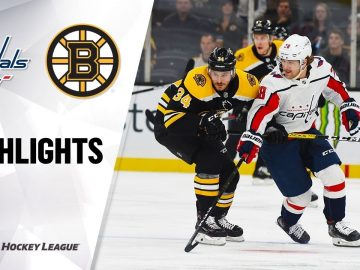 NHL Highlights | Capitals @ Bruins 11/16/19