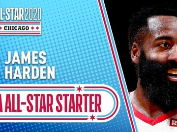 James Harden 2020 All-Star Starter | 2019-20 NBA Season