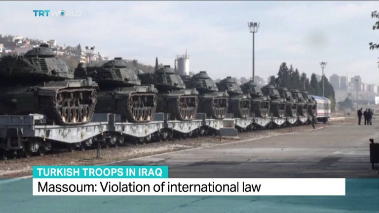 TRT World - Interview with Andreas Krieg on Turkey's deployment of troops to Iraq