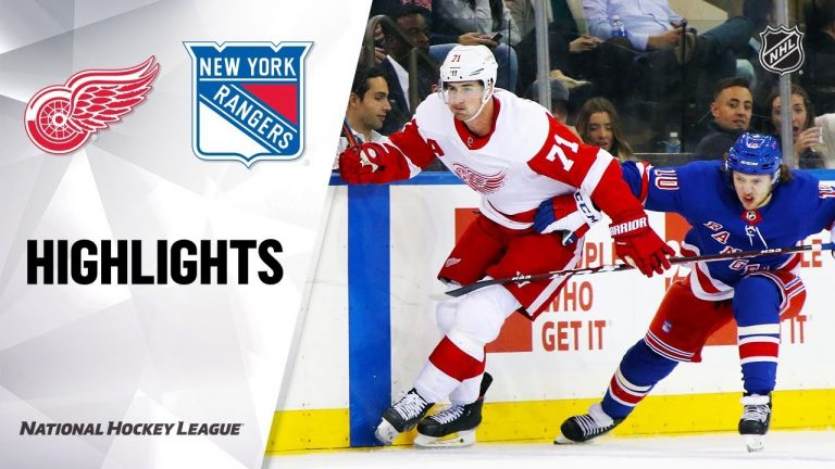NHL Highlights | Red Wings @ Rangers 11/06/19