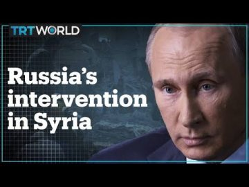What is the human cost of Russia's intervention in Syria?