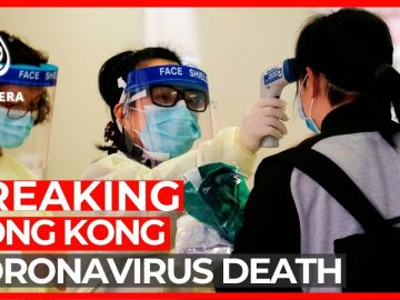 Coronavirus death in Hong Kong, as China admits 'shortcomings'