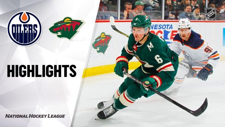 NHL Highlights | Oilers @ Wild 12/12/19