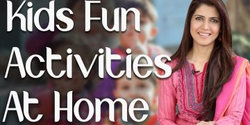 Kids Fun Activities at Home / How to Engage Kids at Home during School Break - Ghazal Siddique