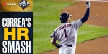 Carlos Correa RAKES 2-run home run to extend Astros' lead in World Series Game 5 | MLB Highlights