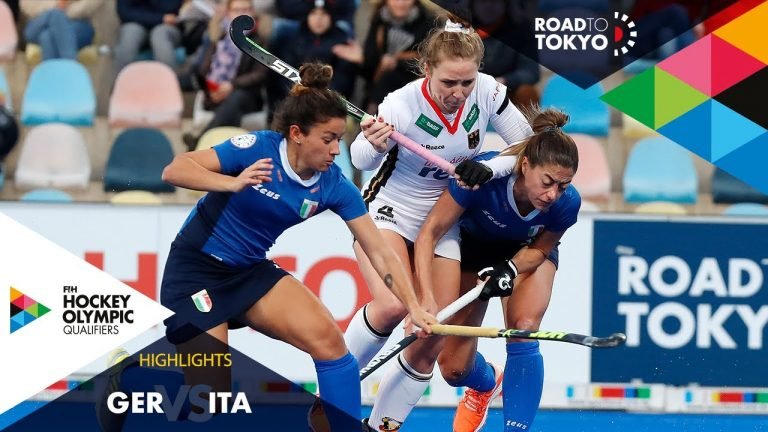 Germany vs Italy | FIH Hockey Olympic Qualifiers | Women's | Match 1