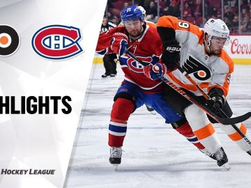 NHL Highlights | Flyers @ Canadiens 11/30/19