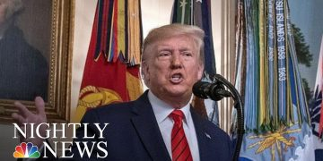 NBC Nightly News Broadcast (Full) - October 27th, 2019 | NBC Nightly News