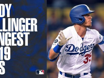 Dodgers' slugger Cody Bellinger's LONGEST home runs of 2019! | MLB Highlights