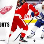NHL Highlights | Maple Leafs @ Red Wings 11/27/19