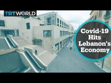 The outbreak hits Lebanon's already fragile economy