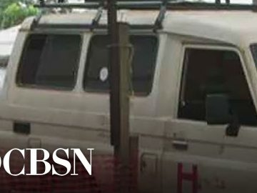 CBS News goes inside Ebola treatment center in Congo