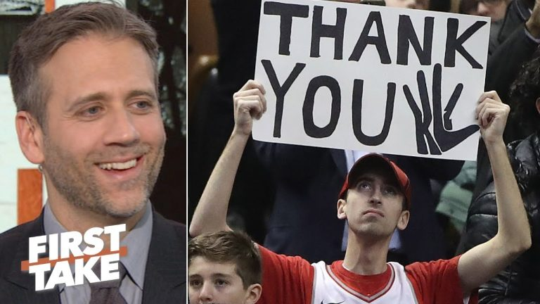 Raptors fans did the right thing by not booing Kawhi in his return - Max Kellerman | First Take