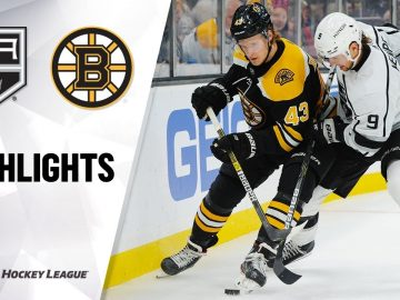 NHL Highlights | Kings @ Bruins 12/17/19