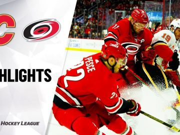 NHL Highlights | Flames @ Hurricanes 10/29/19