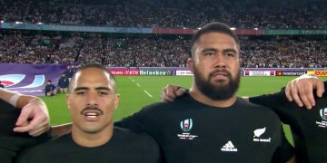 New Zealand anthem v England