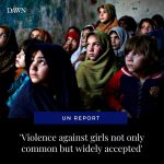 Despite gains in education, violence against women and girls is not only common ... 5