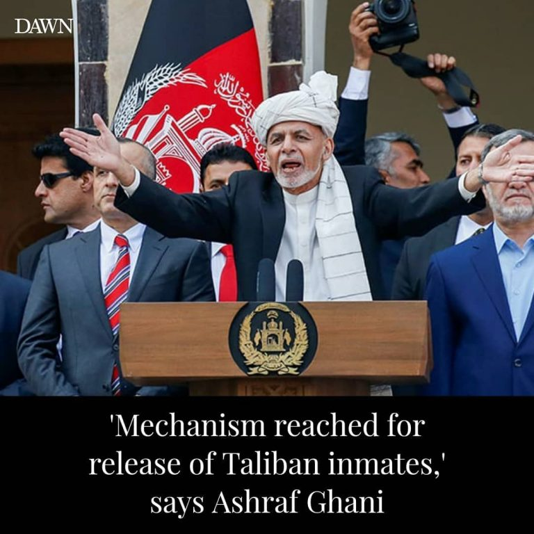 Afghan President Ashraf Ghani announced that a mechanism for the release of Tali... 3