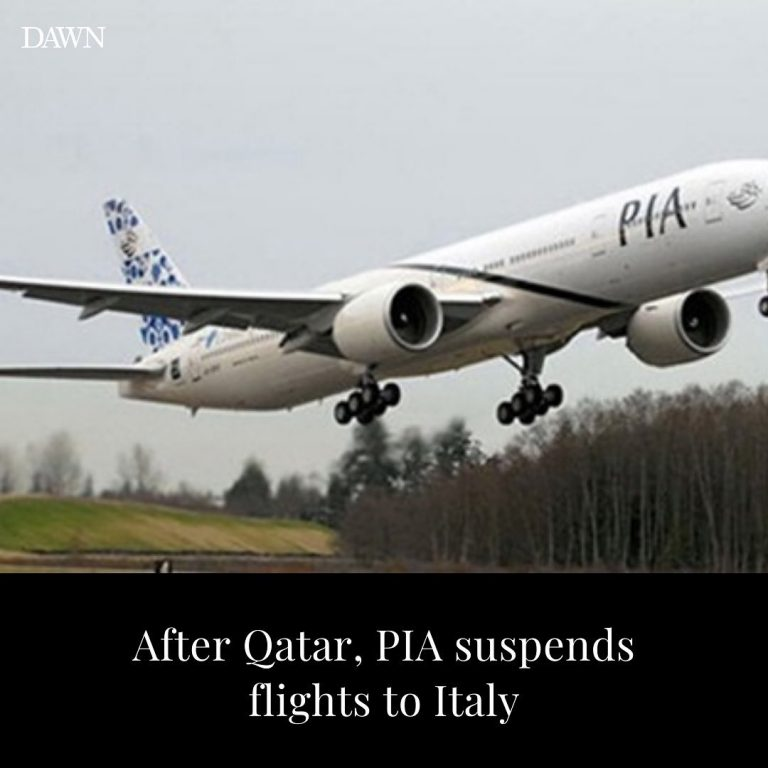 Pakistan International Airline has decided to temporarily suspend flight operati... 3