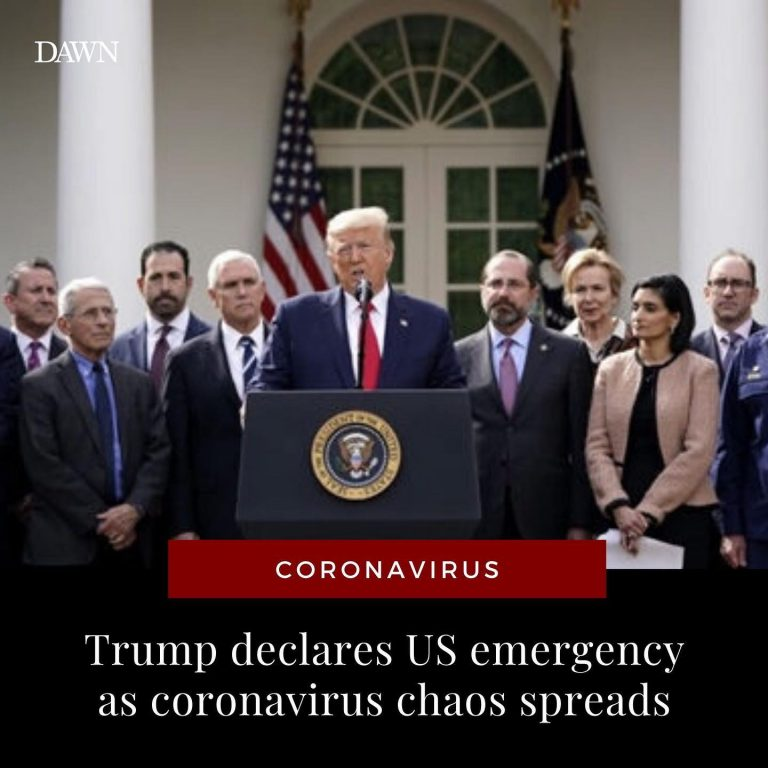 US President Donald Trump has announced a national state of emergency, freeing u... 3