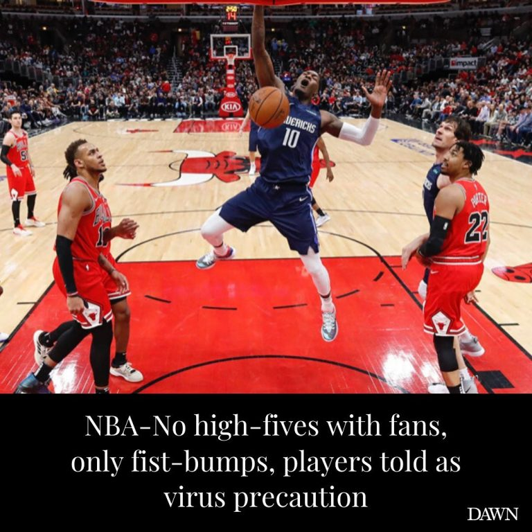 NBA players should fist-bump with fans instead of high-fiving them and avoid tak... 3