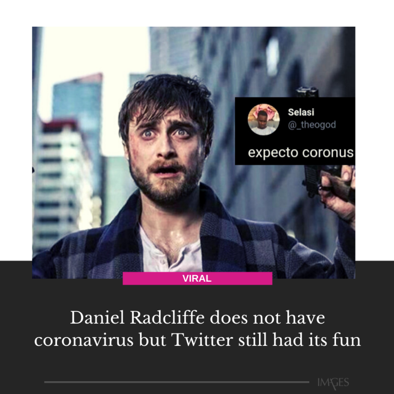 For some reason, news started spreading that Daniel Radcliffe has caught the cor... 3