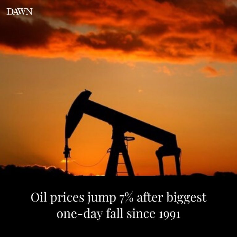 Oil prices bounced back 7% on Tuesday from the biggest one-day rout in nearly 30... 3