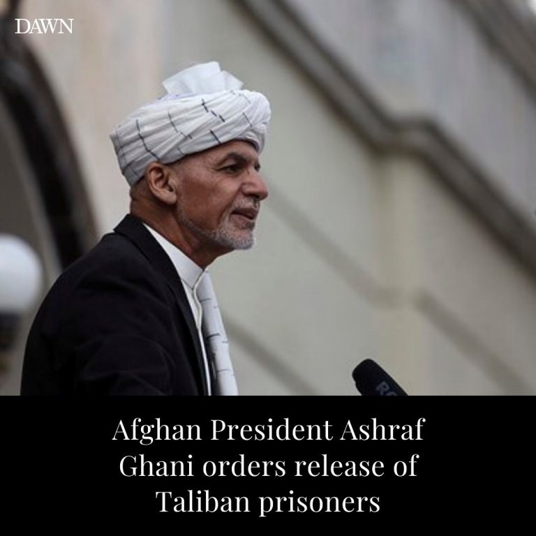 Afghanistan's President Ashraf Ghani signed a decree to facilitate the release o... 3
