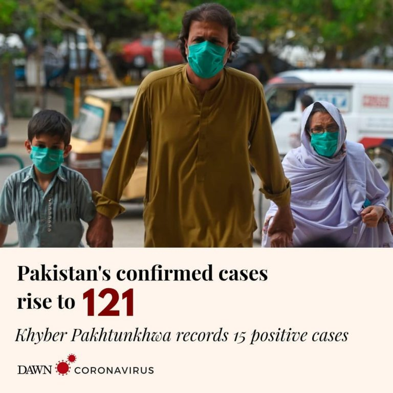 Khyber Pakhtunkhwa has reported its first cases of coronavirus, confirming 15 po... 3