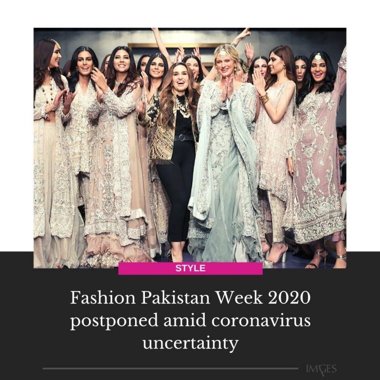 The three-day fashion event was previously scheduled to be held from 9-11 April ... 3