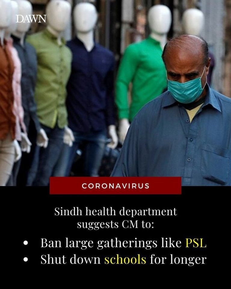 A day after Sindh reported nine more cases of coronavirus, all in Karachi, the p... 3