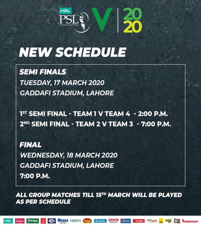 The Pakistan Cricket Board has decided to cut short the ongoing Pakistan Super L... 3