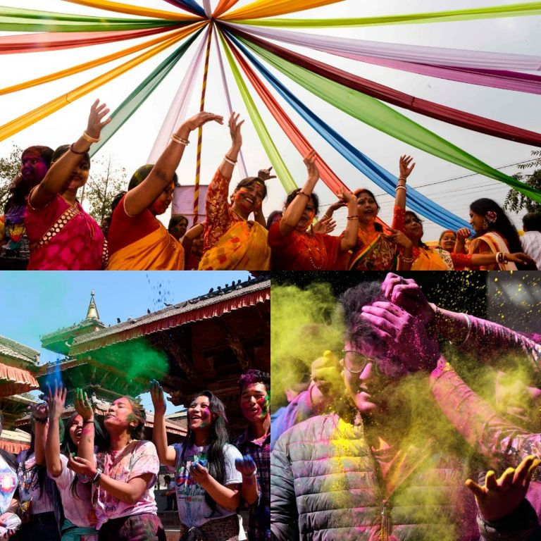 People across Asia poured onto streets on Monday to celebrate the festival of Ho... 3