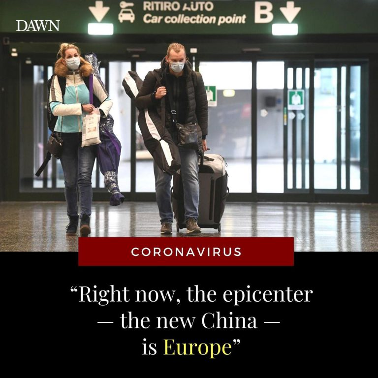 """""""Right now, the epicenter — the new China — is Europe,"""" said Robert Redfield, th... 3"""