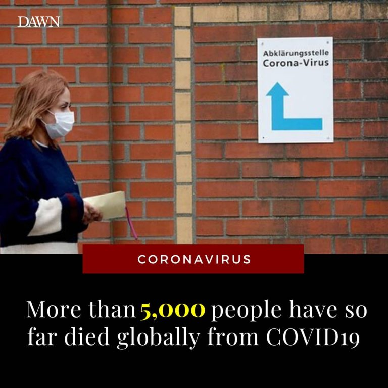 The death toll from the novel coronavirus has surged past 5,000 people on Friday... 3