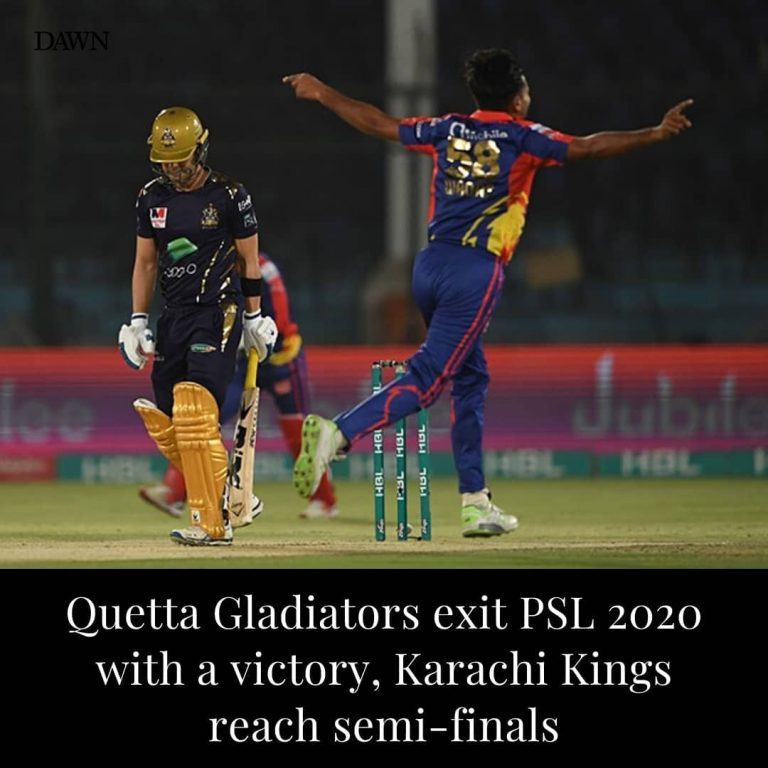 Quetta Gladiators, who entered the tournament as defending champions, walked out... 3