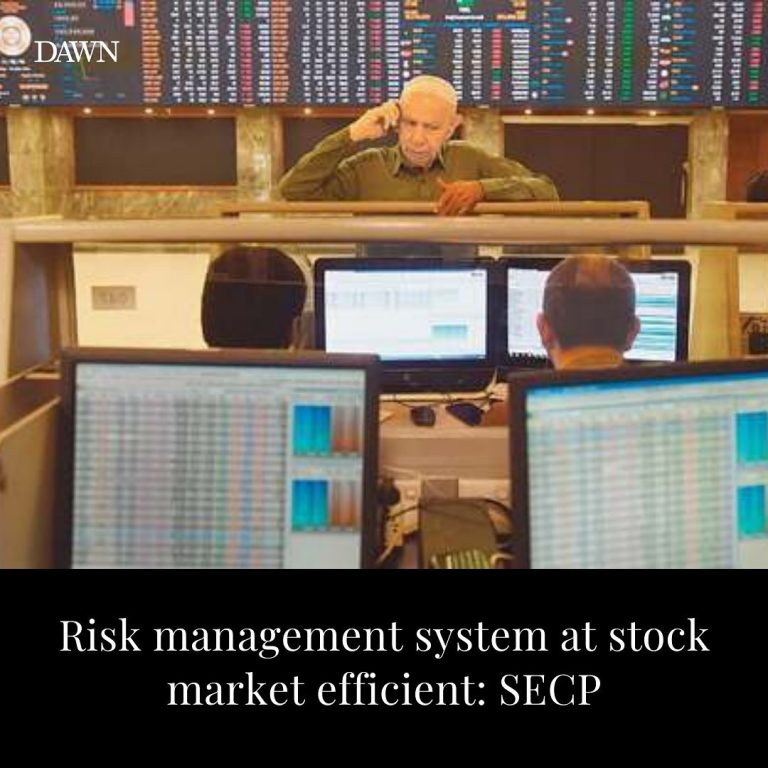 After assessing situation at the stock market in Karachi on Friday, senior offic... 3
