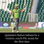 Quetta Gladiators, who entered the tournament as defending champions, walked out... 6