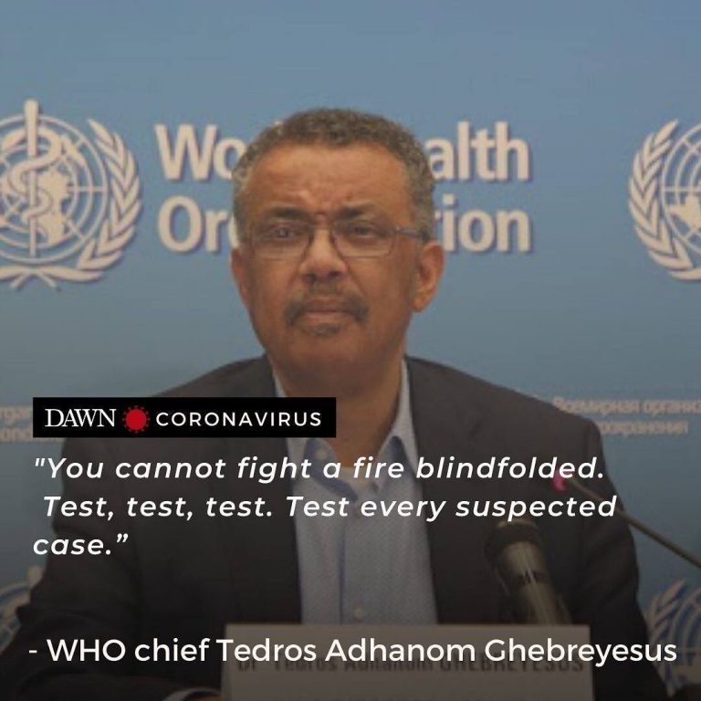 The head of the World Health Organisation called on Monday for every suspected c... 3
