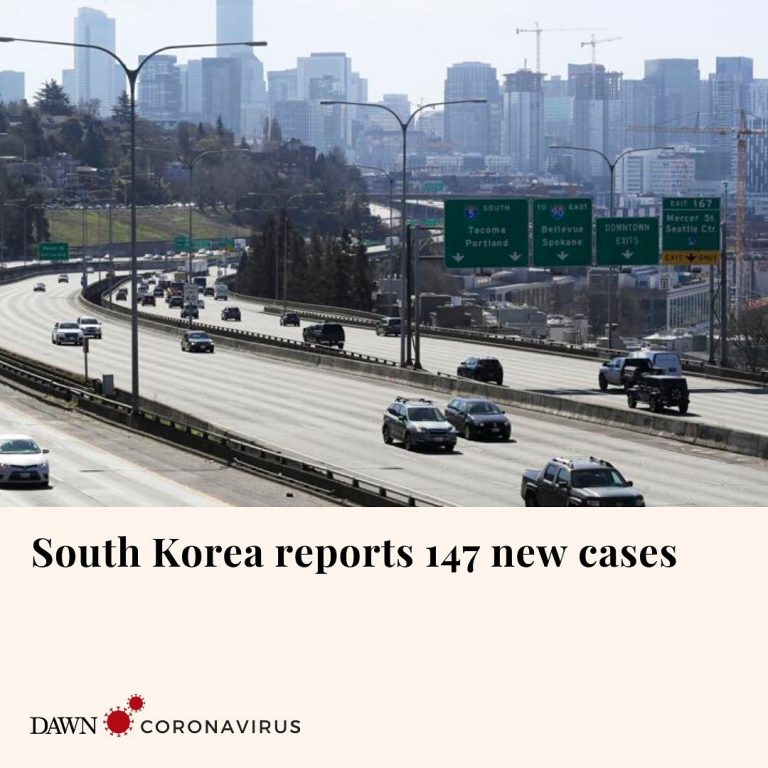 South Korea has reported 147 new cases of coronavirus, holding to its downward t... 3
