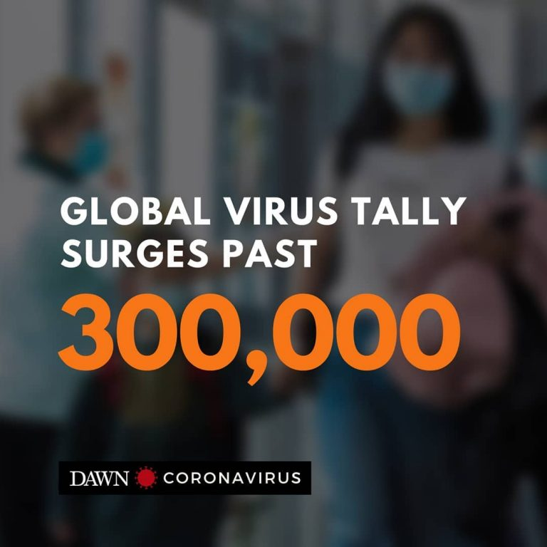 More than 300,000 infections have been confirmed worldwide, with the situation i... 3