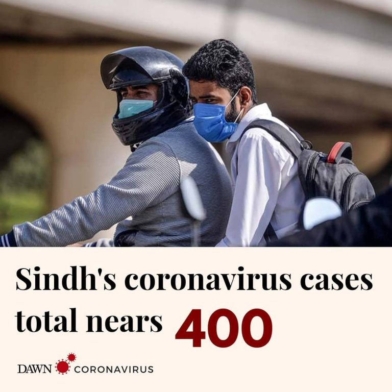 With 36 new cases confirmed in pilgrims who arrived from Taftan, Sindh's to... 3