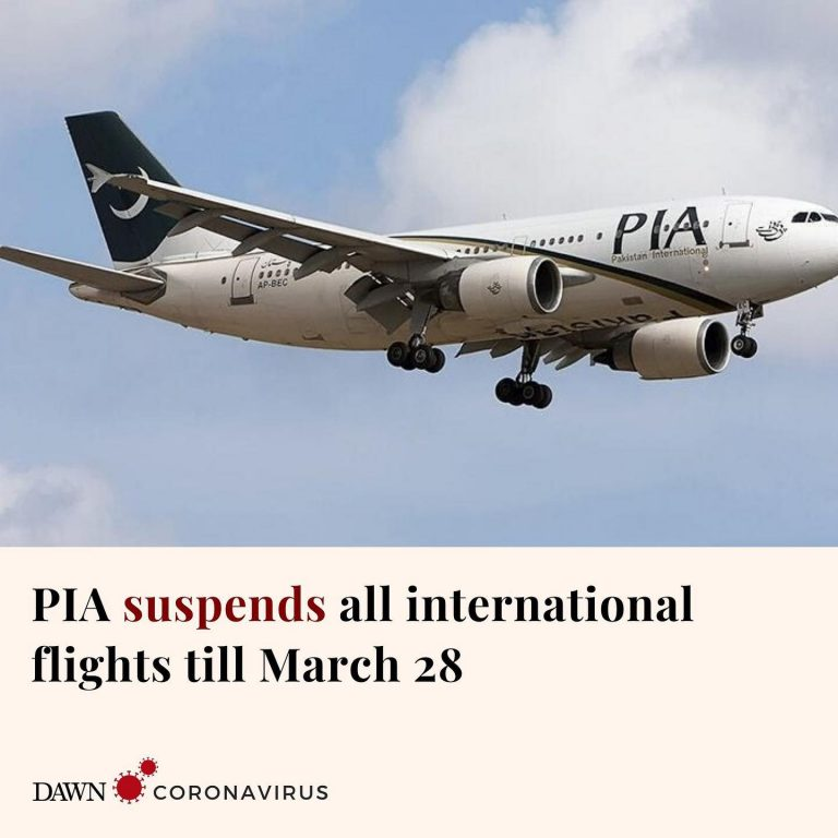 A spokesperson for the Pakistan International Airlines (PIA) has confirmed that ... 3