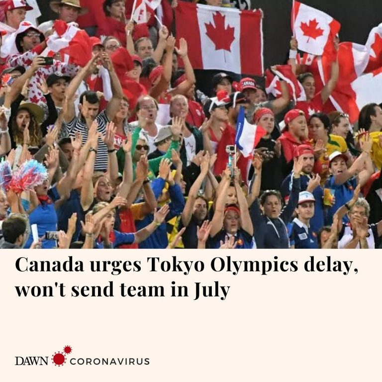 Canadian officials have urged postponement of the Tokyo Olympics, saying that in... 3