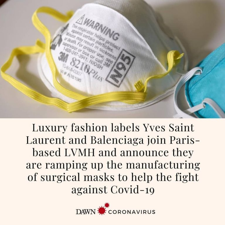 The Kering Group, which owns the labels, says French workshops that usually make... 3